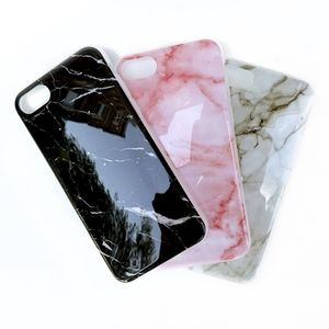 NWT BLACK Flexible Marble iPhone 7 or 7+ Case